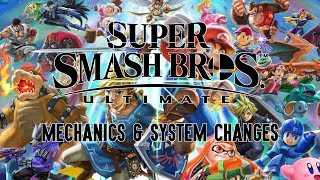 Super Smash Bros. Ultimate - Mechanics & System Changes from E3 2018 Build