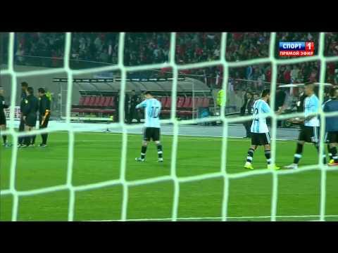 Футбол. Кубок Америки 2015. Плей-офф. Финал. Чили - Аргентина 04.07 (2015)