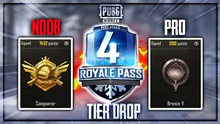 Season 4 Tier Drop Conquerer To Platinum🤨PUBG Mobile•Future Gaming