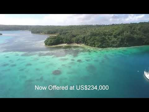 Tropical Island Eco-Resort For Sale in The South Pacific