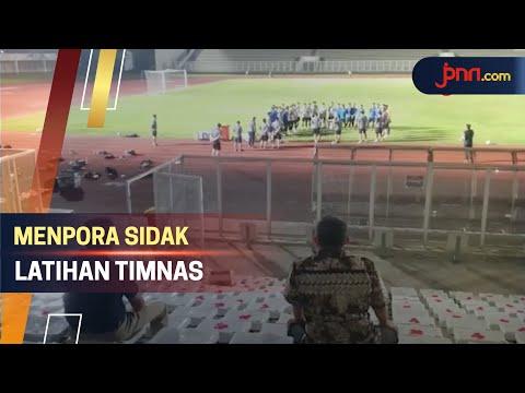 Menpora Sidak Latihan Timnas Indonesia, Shin Tae Yong Bilang Begini