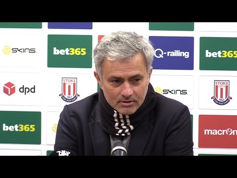 Stoke 1-1 Manchester United - Jose Mourinho Full Post Match Press Conference