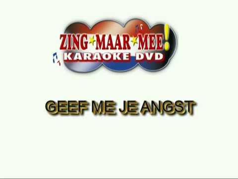 Andre Hazes -  Geef mij je angst ( KARAOKE ) Lyrics