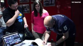 Presentación y Masterclass Yo Traktor en FNAC Callao (Madrid)