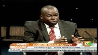 Power Breakfast Interview: Nairobi Water Supply
