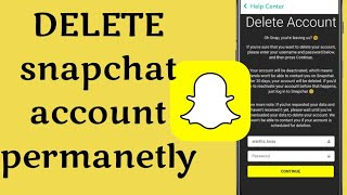 How to Delete Snapchat Account Permanently (2019)