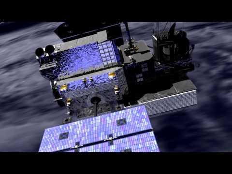 Global Precipitation Measurement Core Observatory (Animation #2) [720p]