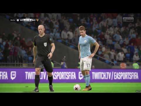 MANCHESTER CITY - FC BASEL FIFA 18 predictions 2017-18 Champions League 07.03.2018