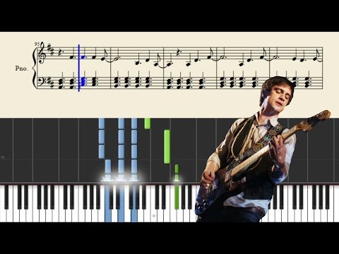 Panic! At The Disco - When The Day Met The Night - Piano Tutorial + SHEETS