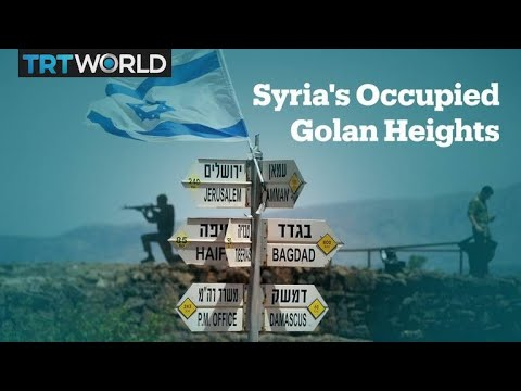 Israel-occupied Golan Heights explained
