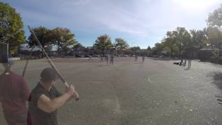 Major League Stickball - 2015 10 31 Pelham Village at Queens Stickemup Game 2