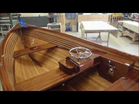 how to build a wooden boat - VideoRuclip