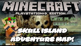 MINECRAFT PS HORROR MAP LETS PLAY DOWNLOAD LINK DISC AND DIGITAL - Minecraft ps3 us disc maps