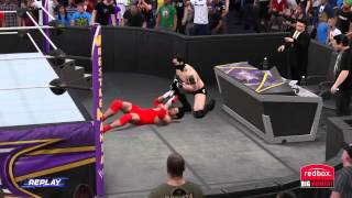 WWE 2K15 - myCareer - Retirement Match