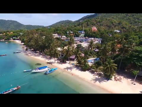 Koh Samui, chaweng beach, Koh Tao, AngThong marine park …Thailand by drone !!