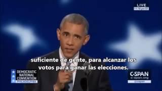 Escucha a Obama destruir a Trump en menos de 3 minutos