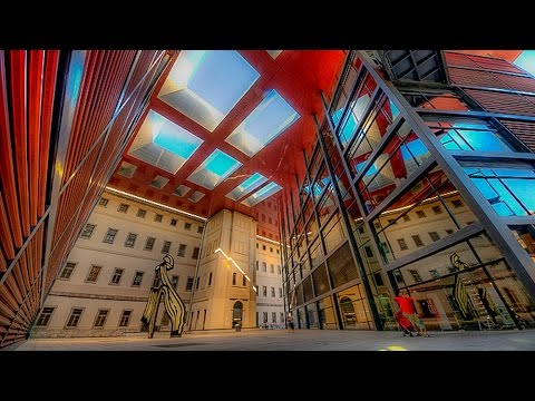 A  Walk Around The Reina Sofia Museum, Madrid, Spain
