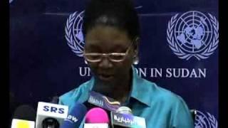 Velerie Amos Visit to Sudan