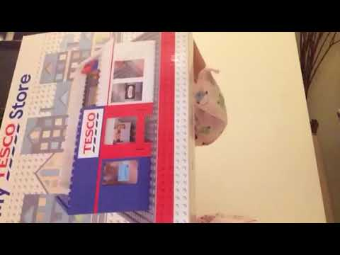 Tesco Lego Hypermarket Set Youtube