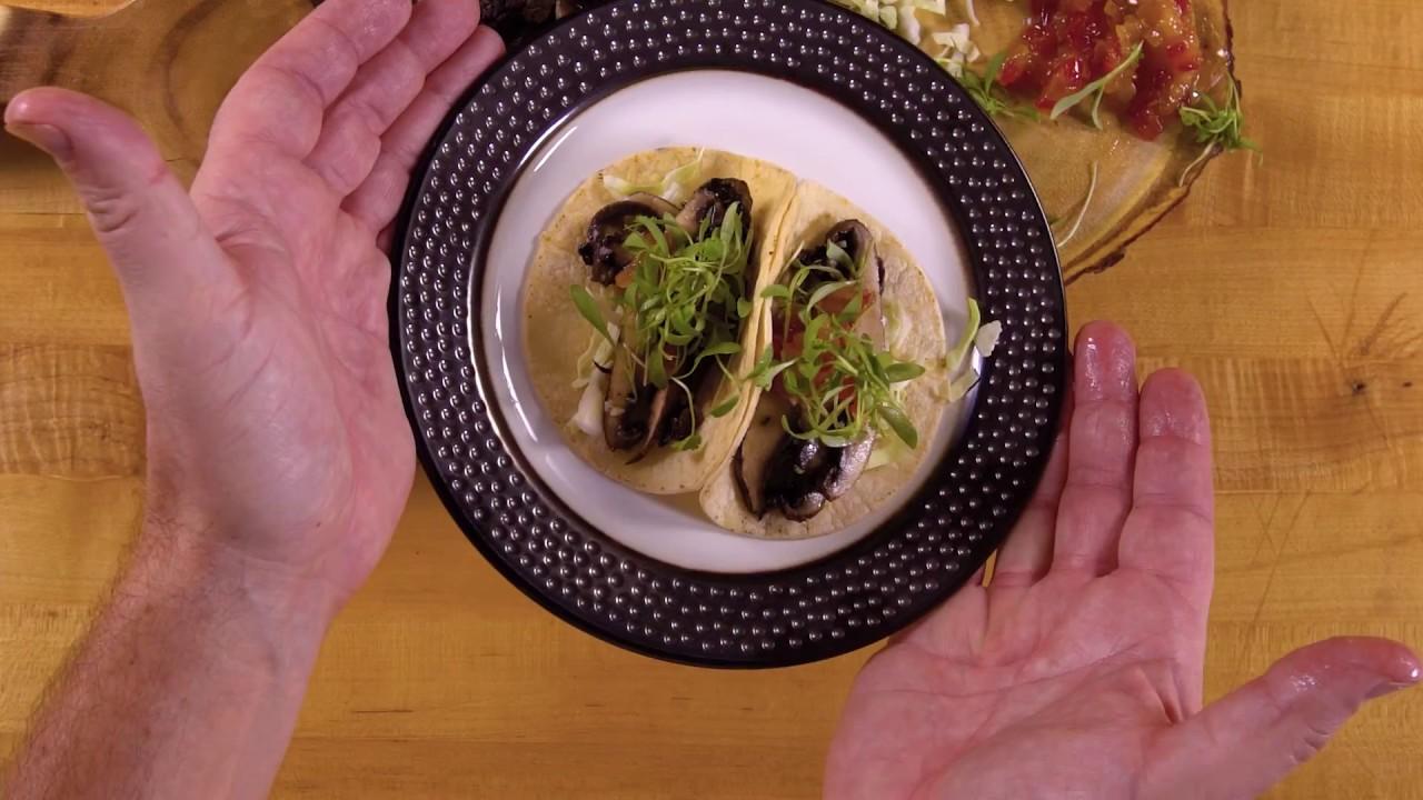 Portobello Mushroom Tacos | 2017 Food & Wine Festival - YouTube