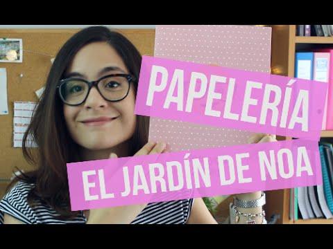 Material Escolar El Jardin De Noa Tiempo Entre Papeles Youtube
