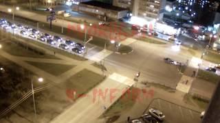 ДТП на Мира попало на видео в Сургуте