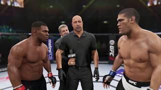 Mike Tyson vs. Bigfoot Silva (EA Sports UFC 2) - CPU vs. CPU