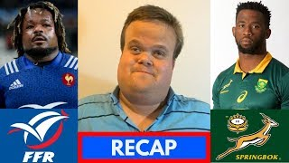 France vs Springboks 2018 RECAP | November Tests Week 2