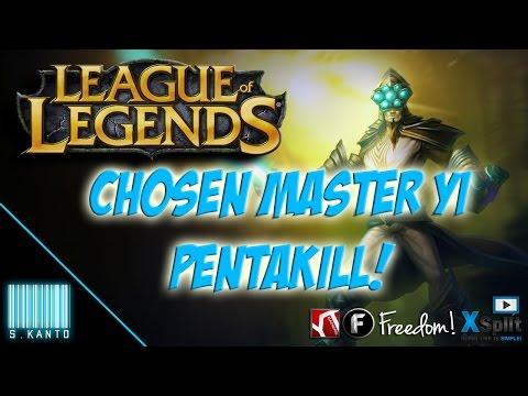 ★ LEAGUE OF LEGENDS SHORT ★ | Chosen Master Yi - #Pentakill【1080p HD】