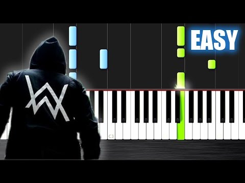 Alan Walker - Sing Me To Sleep - EASY Piano Tutorial by PlutaX