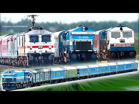 EAST INDIA Trains | Howrah Chord line | INDIAN RAILWAYS thumbnail