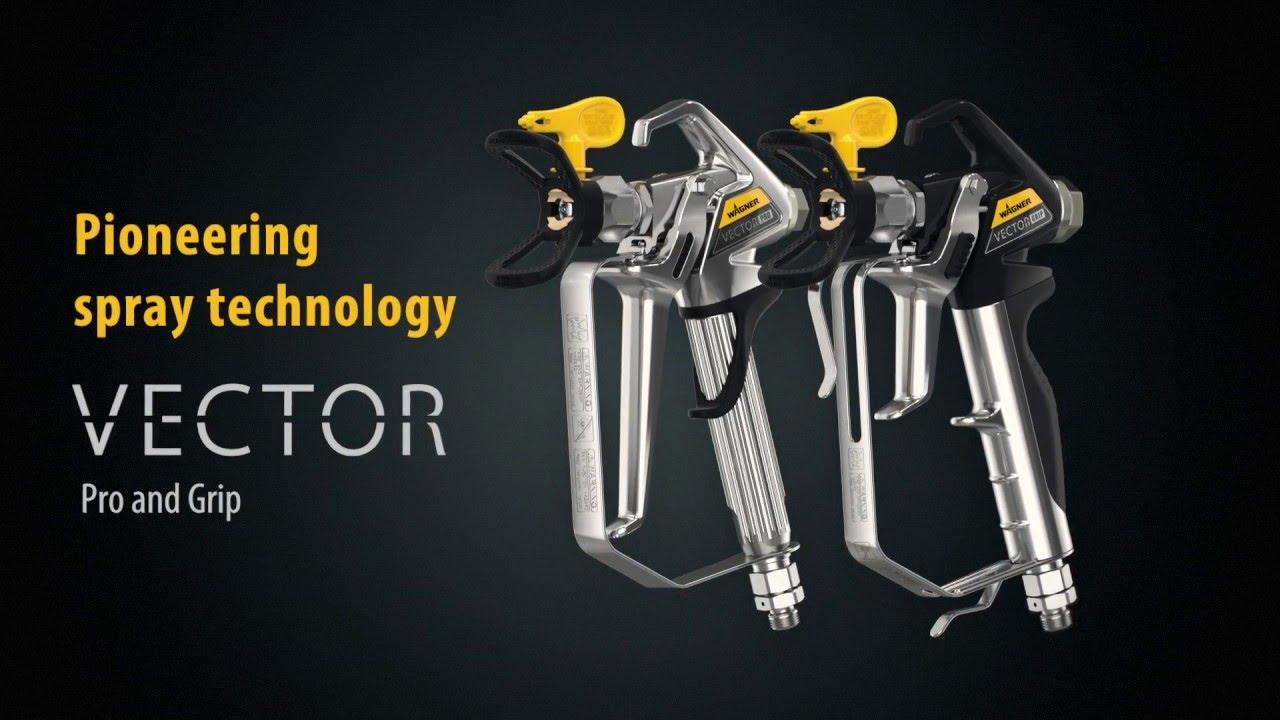 Wagner Vector Pro & Grip Airless Guns