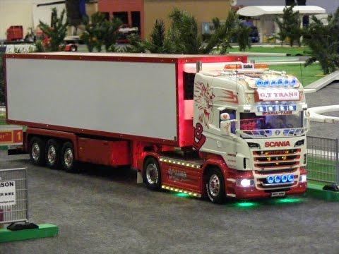 Rc Trucks @ Leyland Tamiya Wedico LKW Scania Volvo 2014 Archive. HAVING FUN WITH RC TRUCKS