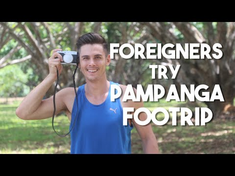 Foreigners Try Pampanga Foodtrip (Filipino Food)