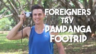 Foreigners Try Pampanga Foodtrip (Filipino Food)