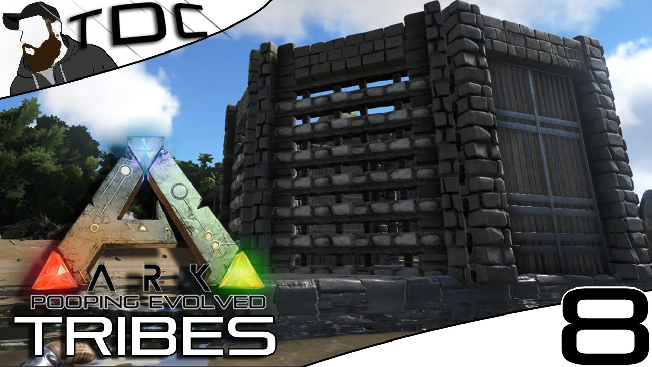 ARK SURVIVAL EVOLVED BASE BUILDING THE OCTAGON