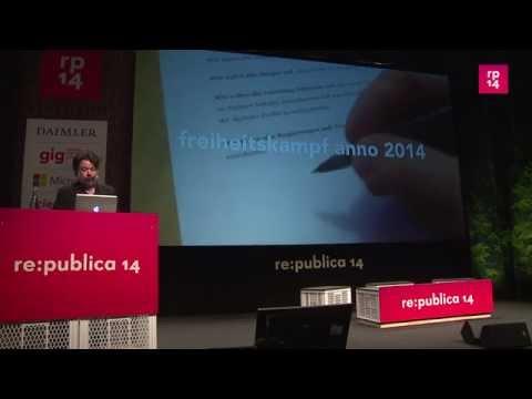 re:publica 2014 - Felix Schwenzel: Wie ich lernte, die ... on YouTube