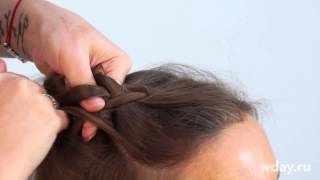 Французская коса обратное плетение: как плести из трех прядей наоборот