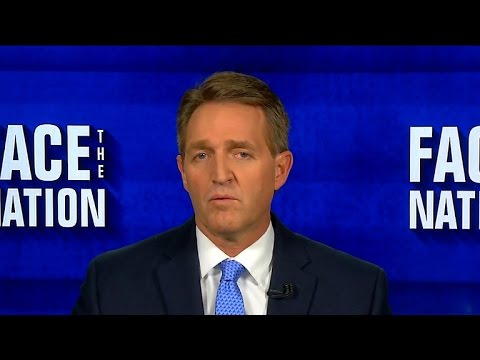 Senator Jeff Flake says presidential actions must be based on threats, not campaign promises