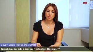 Kısırlığın sık görülen nedenleri nelerdir? Opr. Dr. Arzu İlknur ÖZDEMİR SağlıkTiwi