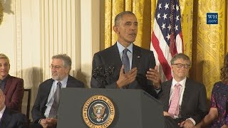 President Obama Awards the Presidential Medal of Freedom