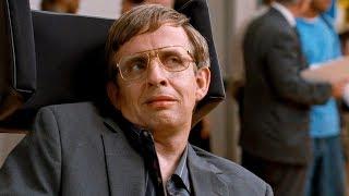 Стивен Хокинг выступает в школе. Фильм