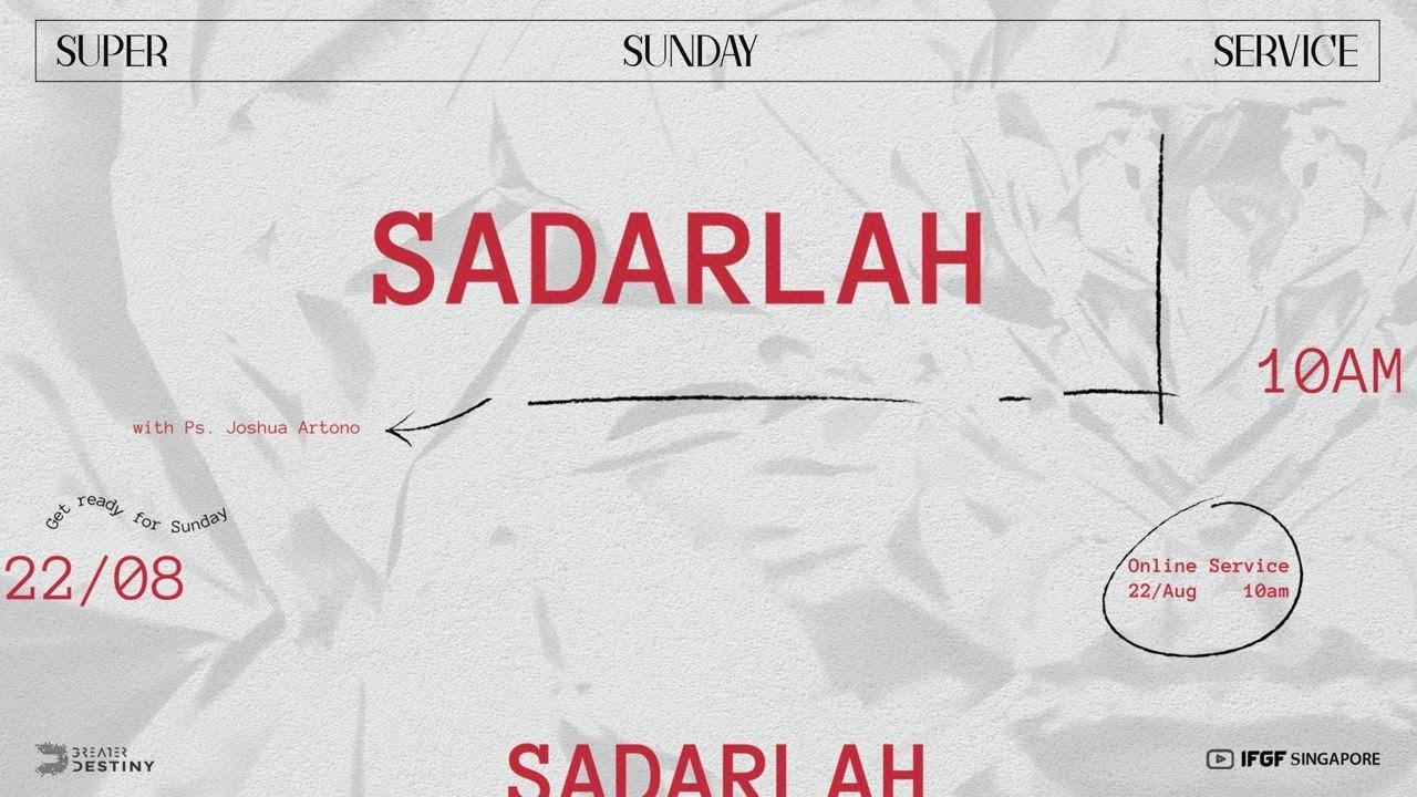 LEADING INSIDE OUT: Sadarlah - Ps. Joshua Artono