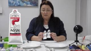 Tutoriels avec Céline Dallaire - Initiation à l'acrylique