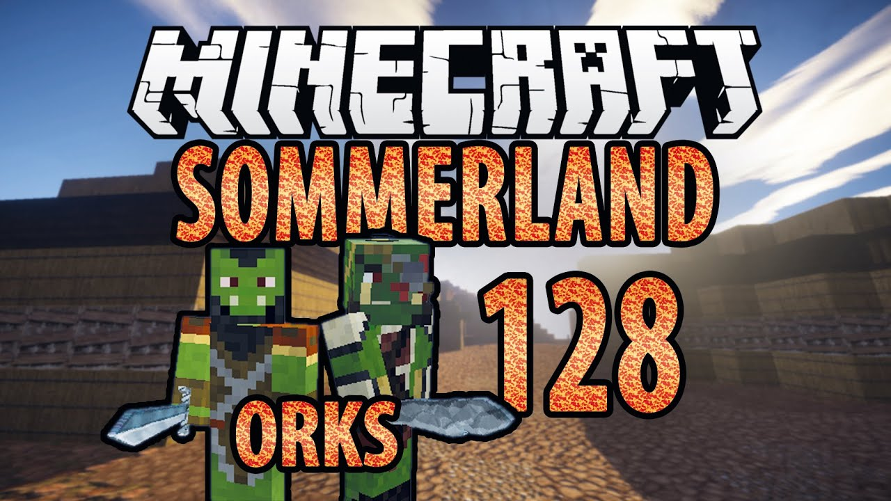 MINECRAFT Sommerland Häuser Kopieren BENNI Orks HD - Minecraft hauser kopieren