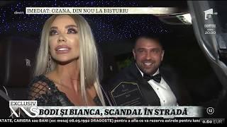 Imagini incredibile! Alex Bodi şi Bianca Drăguşanu, scandal în plină stradă!
