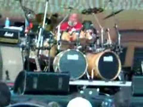 Jerry Mercer drum solo Bourbon St N June 23, 2007
