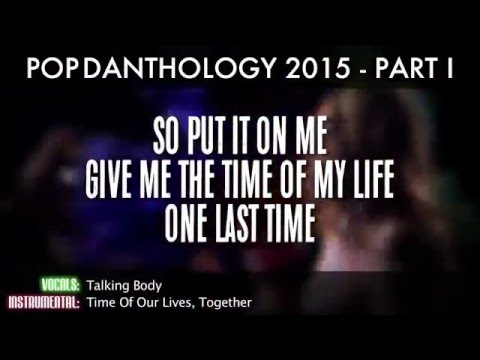 Pop Danthology 2015 Full Video with Lyrics and Song Titles