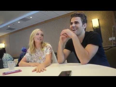 ComicCon 2016 : Paul Wesley and Candice King The Vampire Diaries