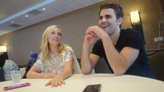 Comic-Con 2016 Interview: Paul Wesley and Candice King (The Vampire Diaries)